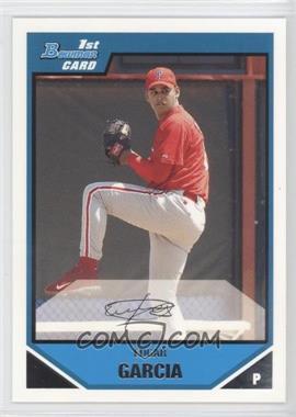 2007 Bowman - Prospects #BP48 - Edgar Garcia