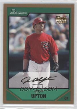 2007 Bowman Draft Picks & Prospects - [Base] - Gold #BDP3 - Justin Upton