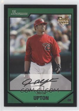 2007 Bowman Draft Picks & Prospects - [Base] #BDP3 - Justin Upton