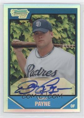 2007 Bowman Draft Picks & Prospects - Chrome Draft Picks - Refractor #BDPP139 - Danny Payne /500