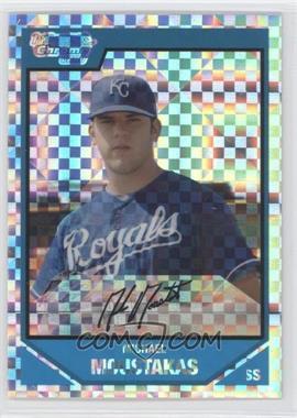 2007 Bowman Draft Picks & Prospects - Chrome Draft Picks - X-Fractor #BDPP53 - Mike Moustakas /299