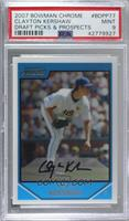 Prospects - Clayton Kershaw [PSA 9 MINT]