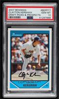 Clayton Kershaw [PSA 10 GEM MT]