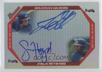 Jason Heyward, Jonathan Gilmore #/50