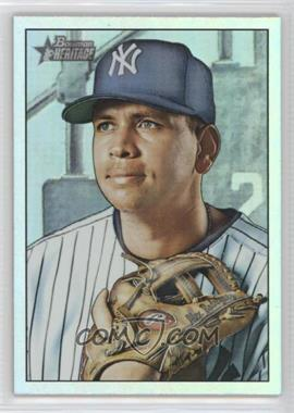 2007 Bowman Heritage - [Base] - Rainbow Foil #190.2 - Alex Rodriguez (Missing Facsimile Signature)