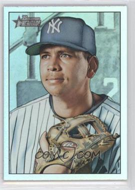 2007 Bowman Heritage - [Base] - Rainbow Foil #190.2 - Alex Rodriguez (Missing Facsimile Signature)