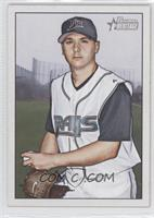Scott Kazmir (Missing Facsimile Signature)