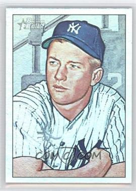 2007 Bowman Heritage - Mickey Mantle Short Prints - Rainbow Foil #1 - Mickey Mantle
