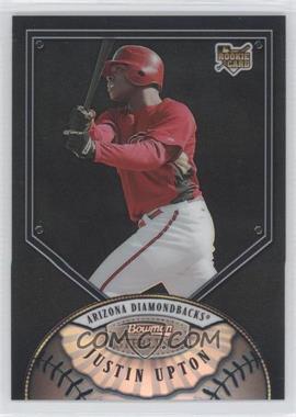 2007 Bowman Sterling - [Base] - Black Refractor #BS-JU - Justin Upton /25