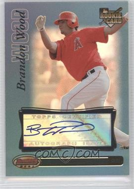 2007 Bowman's Best - [Base] - Blue #73 - Brandon Wood /99