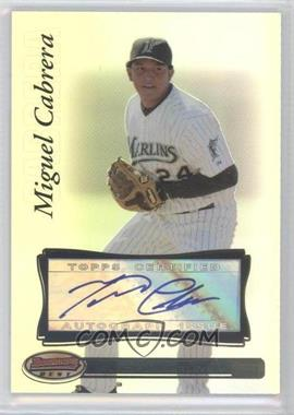 2007 Bowman's Best - [Base] #27.2 - Miguel Cabrera (Auto)