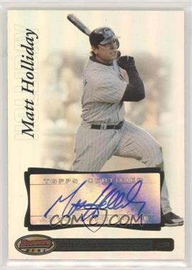 2007 Bowman's Best - [Base] #39 - Matt Holliday