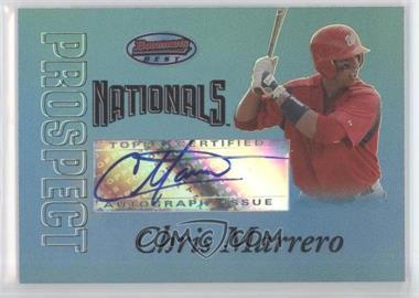 2007 Bowman's Best - Prospects - Blue #BBP54 - Chris Marrero /99