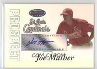 Autograph - Joe Mather