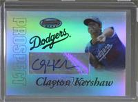 Autograph - Clayton Kershaw [Noted]