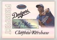 Autograph - Clayton Kershaw