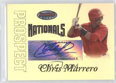 2007 Bowman's Best - Prospects #BBP54 - Autograph - Chris Marrero