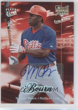 2007 Fleer Ultra - [Base] - Rookie Autographs #229 - Michael Bourn /299