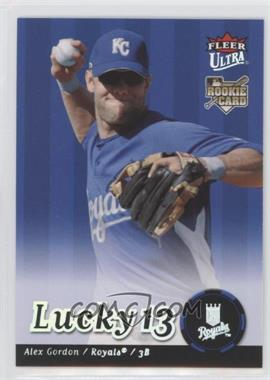 2007 Fleer Ultra - [Base] #246 - Alex Gordon