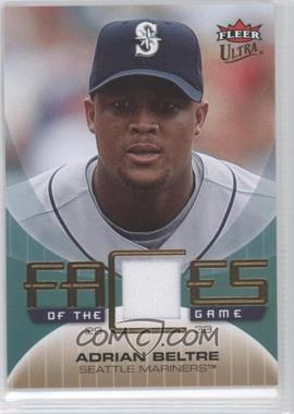 2007 Fleer Ultra - Faces of the Game - Materials #GF-AB - Adrian Beltre