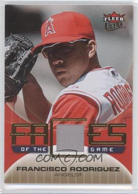 2007 Fleer Ultra - Faces of the Game - Materials #GF-FR - Francisco Rodriguez