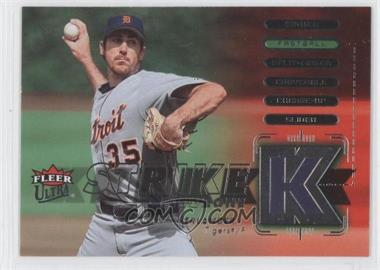 2007 Fleer Ultra - Strike Zone #SZ-JV - Justin Verlander