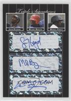 Jason Heyward, Michael Burgess, Wendell Fairley #/3