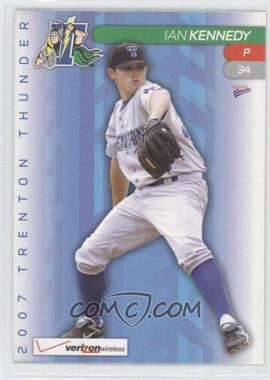 2007 Multi-Ad Sports Trenton Thunder - [Base] #34 - Ian Kennedy