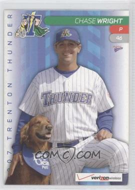 2007 Multi-Ad Sports Trenton Thunder - [Base] #46 - Chase Wright