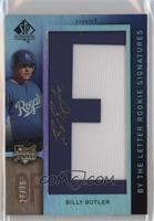 By the Letter Rookie Signatures - Billy Butler /75