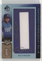 By the Letter Rookie Signatures - Billy Butler (Letter O) /75
