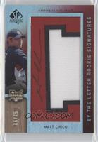 By the Letter Rookie Signatures - Matt Chico (Letter C) #/75