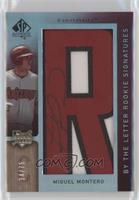By the Letter Rookie Signatures - Miguel Montero (Letter R) /75