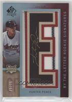 By the Letter Rookie Signatures - Hunter Pence /75