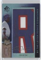 By the Letter Rookie Signatures - Felix Pie /75