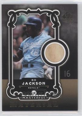 2007 SP Legendary Cuts - Masterful Material #MM-BJ - Bo Jackson
