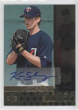 2007 SP Rookie Edition - [Base] - Autographs [Autographed] #105 - Kevin Slowey