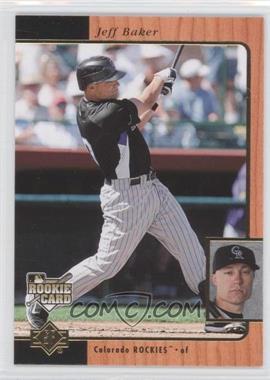 2007 SP Rookie Edition - [Base] #236 - Jeff Baker