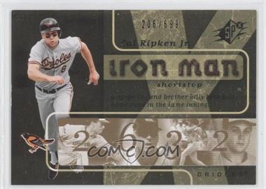 2007 SPx - Iron Man #IM53 - Cal Ripken Jr. /699