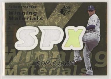 2007 SPx - Winning Materials - Dual Gold #WM-FH - Felix Hernandez /50