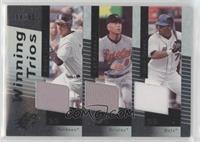 Derek Jeter, Cal Ripken Jr., Jose Reyes #/50