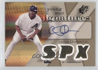 2007 SPx - Young Star Signatures #YS-CQ - Carlos Quentin