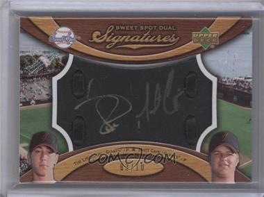 2007 Sweet Spot - Signatures Dual #SS2-LC - Tim Lincecum, Matt Cain /10