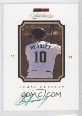 2007 TRISTAR Autothentics - [Base] - Red Autographs [Autographed] #68 - Chase Headley /50