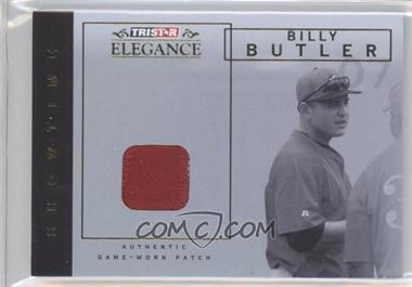 2007 TRISTAR Elegance - Showtime - Game-Worn Patch #ST-BB - Billy Butler