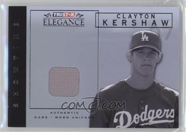 2007 TRISTAR Elegance - Showtime - Game-Worn Patch #ST-CK - Clayton Kershaw