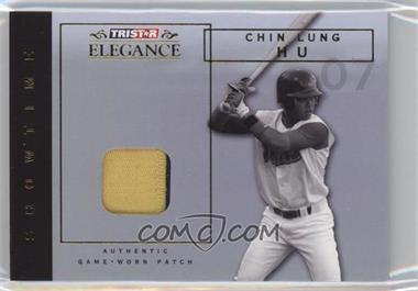 2007 TRISTAR Elegance - Showtime - Game-Worn Patch #ST-CLH - Chin-Lung Hu