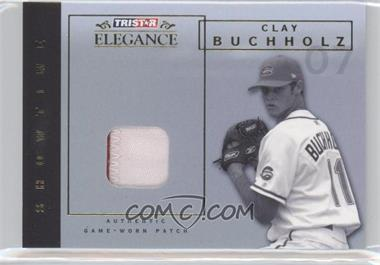 2007 TRISTAR Elegance - Showtime - Game-Worn Patch #ST-CLL - Clay Buchholz