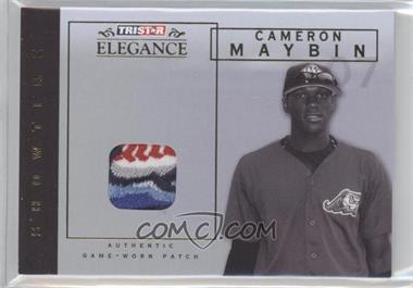 2007 TRISTAR Elegance - Showtime - Game-Worn Patch #ST-CM - Cameron Maybin