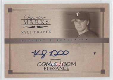 2007 TRISTAR Elegance - Signature Marks #SM-KD - Kyle Drabek